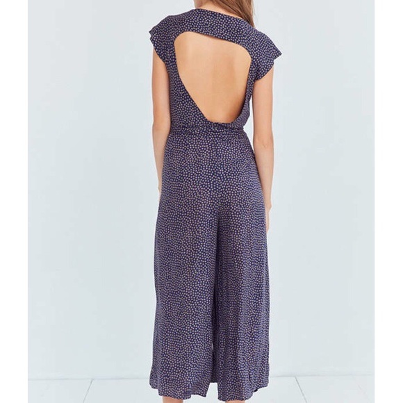Urban Outfitters Pants - Urban Outfitters UO Kimchi Blue Shea Wrap Jumpsuit